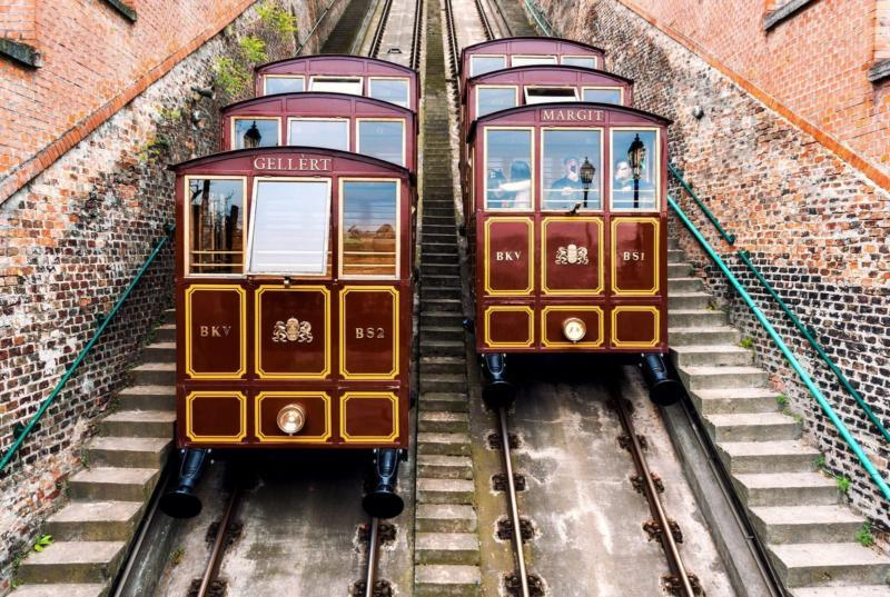 Cable Car to Gallert Hill Budapest