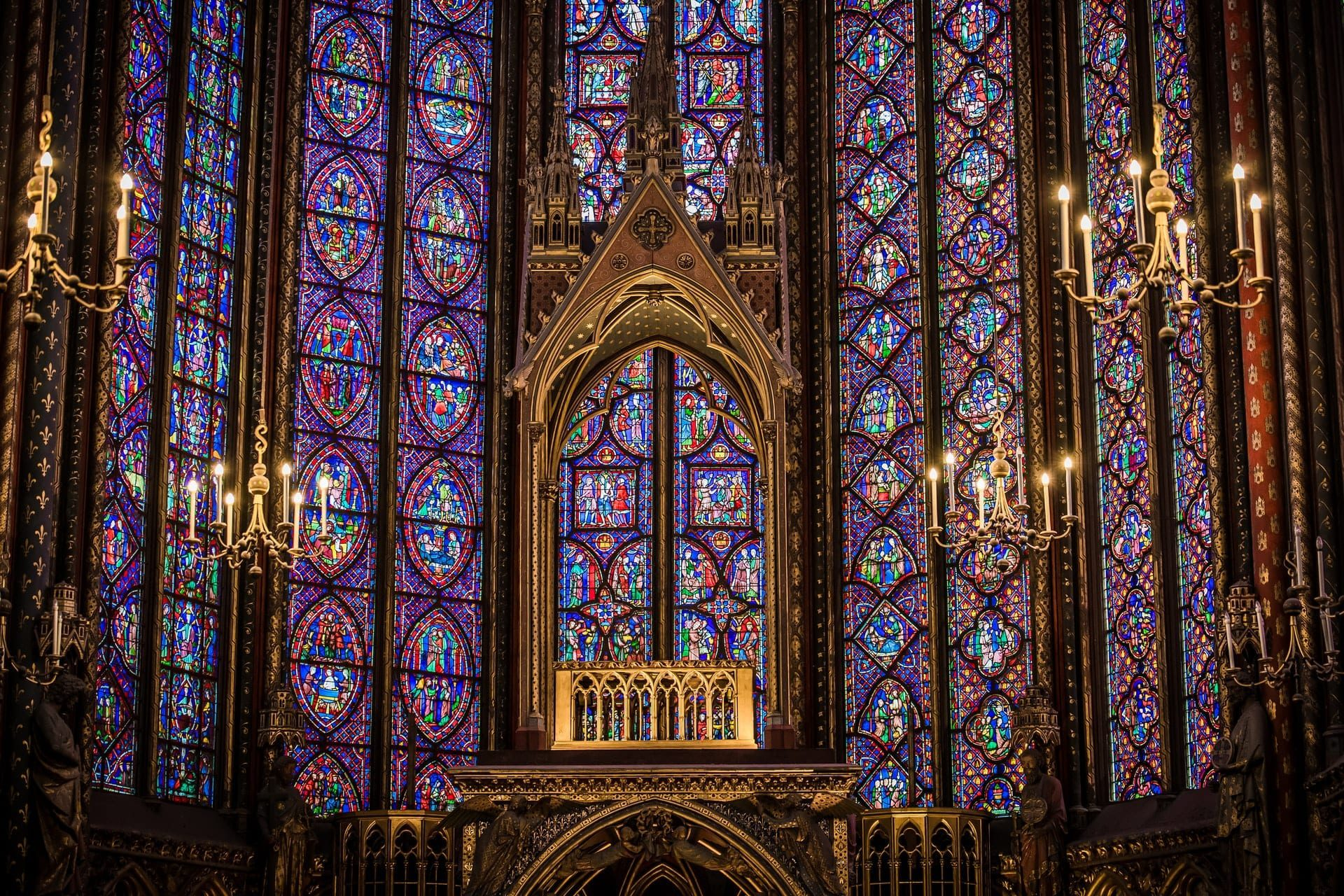 Sainte-Chapelle,Paris