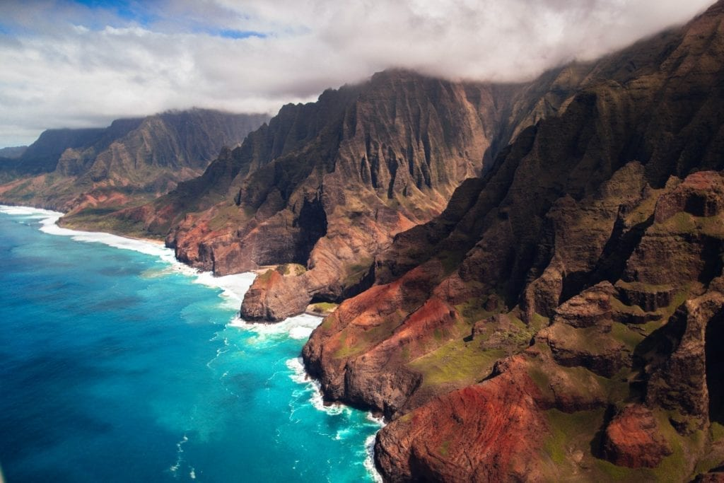 Nieuwsbericht: Na Pali Coast, beautiful sea cliffs, streams, and cascading waterfalls