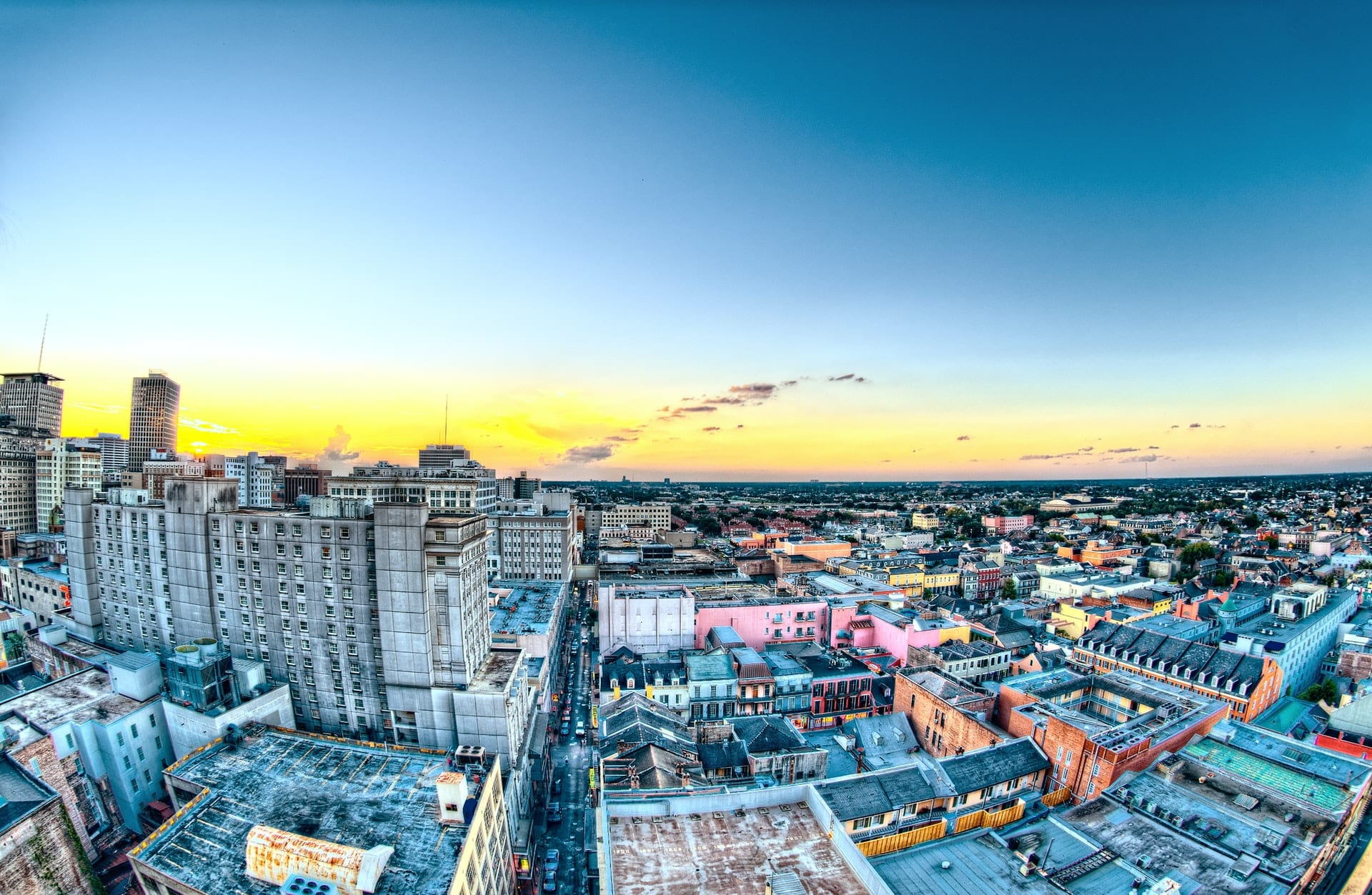 Hotel Monteleone at Sunset in New Orleans